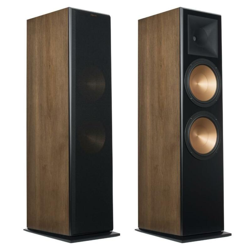 Klipsch Rf-7 Mark Iii Reference Tower Speakers Walnut Finish Pair B Stock New