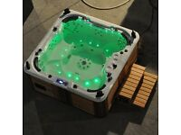Hot Tub with Bluetooth Audio