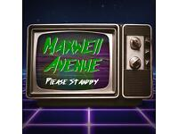 Pop/Rock band Maxwell Avenue looking for gigs/events