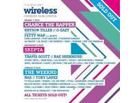 Wireless festival Friday