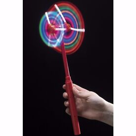 Double flashing windmill spinner
