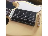 Epiphone sg custom antique cream with Gibson humbuckers