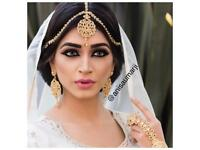 Asian Bride Makeup Artist- party Hair styling workshop