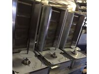 BRAND NEW ARCHWAY DONER KEBAB SHAWARMA 4 BURNER MACHINE FOR COMMERCIAL USE TAKEAWAY DINER KEBAB CAFE