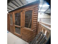 8ft x 8ft hipped roof summerhouse