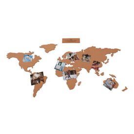 Corkboard world map (Luckies)