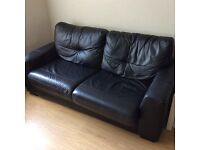 Leather Sofa bed - for sale