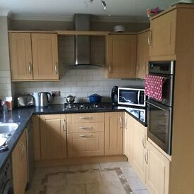Fitted kitchen and most appliances