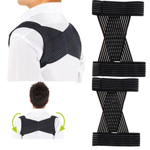 Posture Corrector Under Clothes Shoulder Belt Upper Back Bra