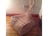Banana fibre Ikea rocking chair
