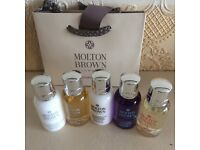 5 mini Molton brown & wee gift bag