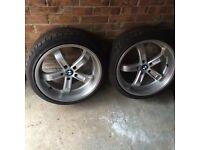 """19"""" bmw deep dish alloy wheels Beyern"""