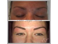 MICROBLADING NATURAL EYEBROWS - FREE THREAD WITH EVERY CONSULTATION