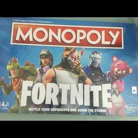 Monopoly Fortnite- unopened in original packaging