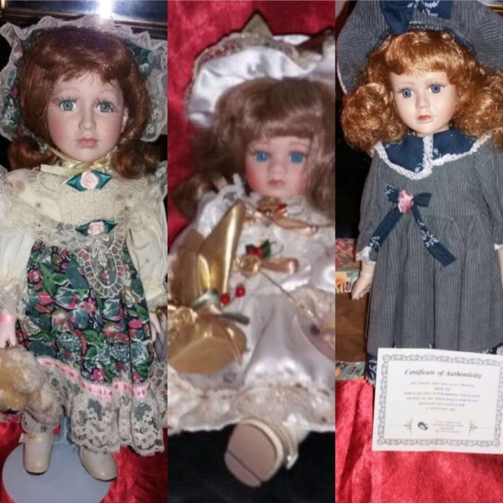 3 VERY COLLECTABLE DOLLS. BARGAIN !!!!!;;;