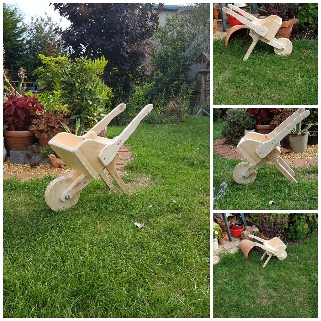 Bespoke Custom Made Garden Planters, Wooden Wheelbarrow Planter U0026 Other  Garden Furniture