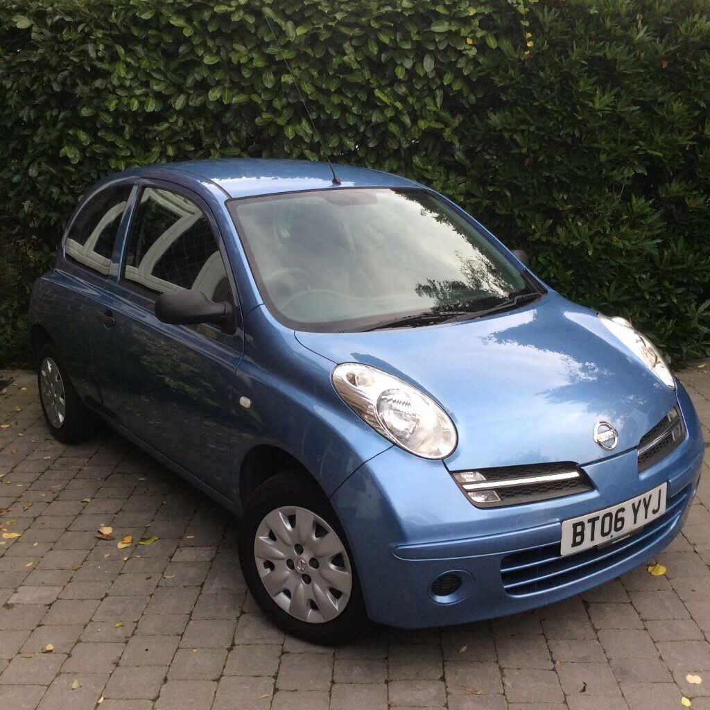 nissan micra 2006 1 2 light blue in horley surrey. Black Bedroom Furniture Sets. Home Design Ideas