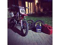 m2r upgraded yx 140cc pit bike