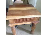 Wooden coffee or side table