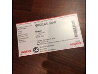 1 x Nicolas Jaar @ Heaven on Tuesday 6th December Tickets