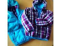 Children's north face jackets