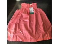 Girls Pink Print H&M Dress New With Tags, Various Sizes