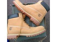 New Timberland boots size 12