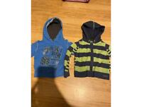 Boys Ted Baker hoody's age 12-18 months