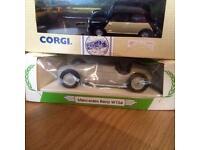 12 old corgi cars