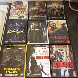 2015 Like New action /Thrillers DVDs