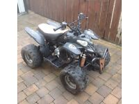 50cc quad running, needs tlc, spares or repairs