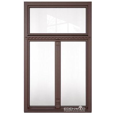 Denkmalschutzfenster Holzfenster für Altbau Fenster mit Oberlicht nach Maß F7