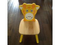 Beautiful wooden childrens chair - VGC
