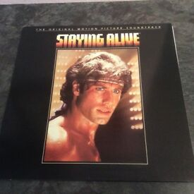 Staying Alive-The Original Motion Picture Soundtrack- Vinyl LP 1983