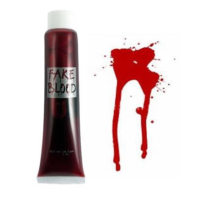 Maquillage Halloween Zombie (Faux Sang Vampire Halloween Déguisement Zombie Rouge Sang Dracula)