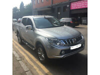 "Mitsubishi l200 barbarian auto ,2016 ""66"" full spec only 9000miles"