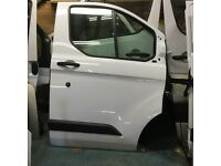 Ford transit custom drivers door complete good condition