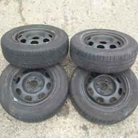 VW Polo 175/65/R13 Tires x 4 £60