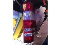 Mercedes sprinter back lights clips broke one has little crack £10 pair
