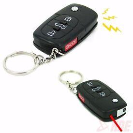 New Electric Shock Gag Car Remote Control Key Funny Trick Joke Prank Toy