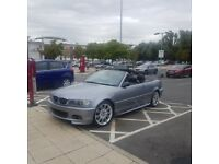 BMW 330ci auto 230bhp convertible for sale or swap
