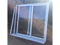UPVC Double Glazed Sliding Patio Doorset 2210mm wide x 2050mm tall