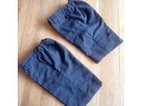 Boys Navy School Shorts 2 pairs
