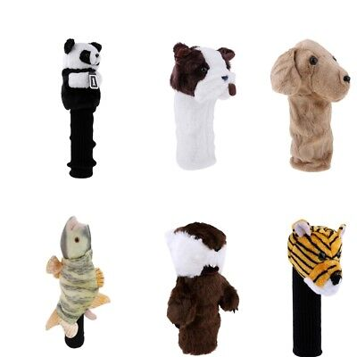 Novelty Animal Golf Head Cover Wood Driver Headcover - 6 Different Styles - Novelty Golf Headcover