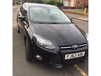 2013 63 reg focus estate 1.6tdci estate met black fsh 118k satnav etc.