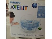 avent philips microwave steam steriliser bnwt