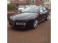 Alfa Romeo 159(2011) Lusso 16v Jtdm 170 including sat nav and blue and me.