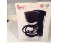 Brand new , Swan coffee maker, never used.