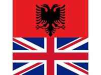 My English/Spanish for your Albanian