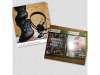 XBox 360 and two games